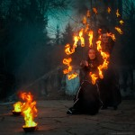 Артисты. Огненное шоу (Fire show)