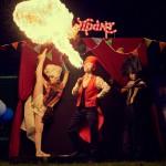 Огненное шоу (Fire show) - Chamelejn Show Group