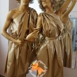 Живые статуи - Живая статуя