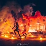 Огненное шоу (Fire show) - Помпеи шоу