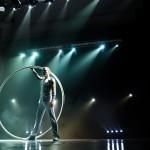 Артисты цирка - Артист на колесе Сира