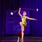Артисты цирка - Девушка с метеором