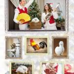 Шоу с животными - Новогодние фокусы с  животными