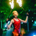 Оригинальный жанр - Театр огня Scarlet Griffin