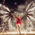 Огненное шоу (Fire show) - творческая группа Альт Шоу