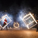 Огненное шоу (Fire show) - огненный коллектив REITON