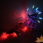 Световое шоу - Светодиодное и огненное шоу SOLARIS