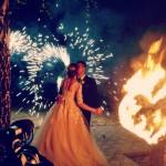 Огненное шоу (Fire show) - Театр огня Quasar