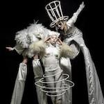 Интерактивное шоу - White Neon Show