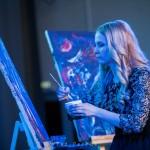 Оригинальный жанр - Шоу Составных картин - Скоростное рисование