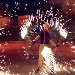 Огненное шоу (Fire show) - Show Анны Lurami