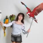 Шоу с животными - Шоу крупных попугаев