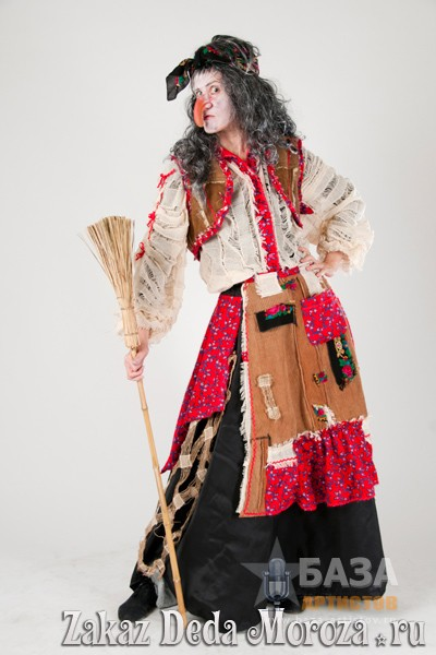 Новогодний костюм бабы яги своими руками фото