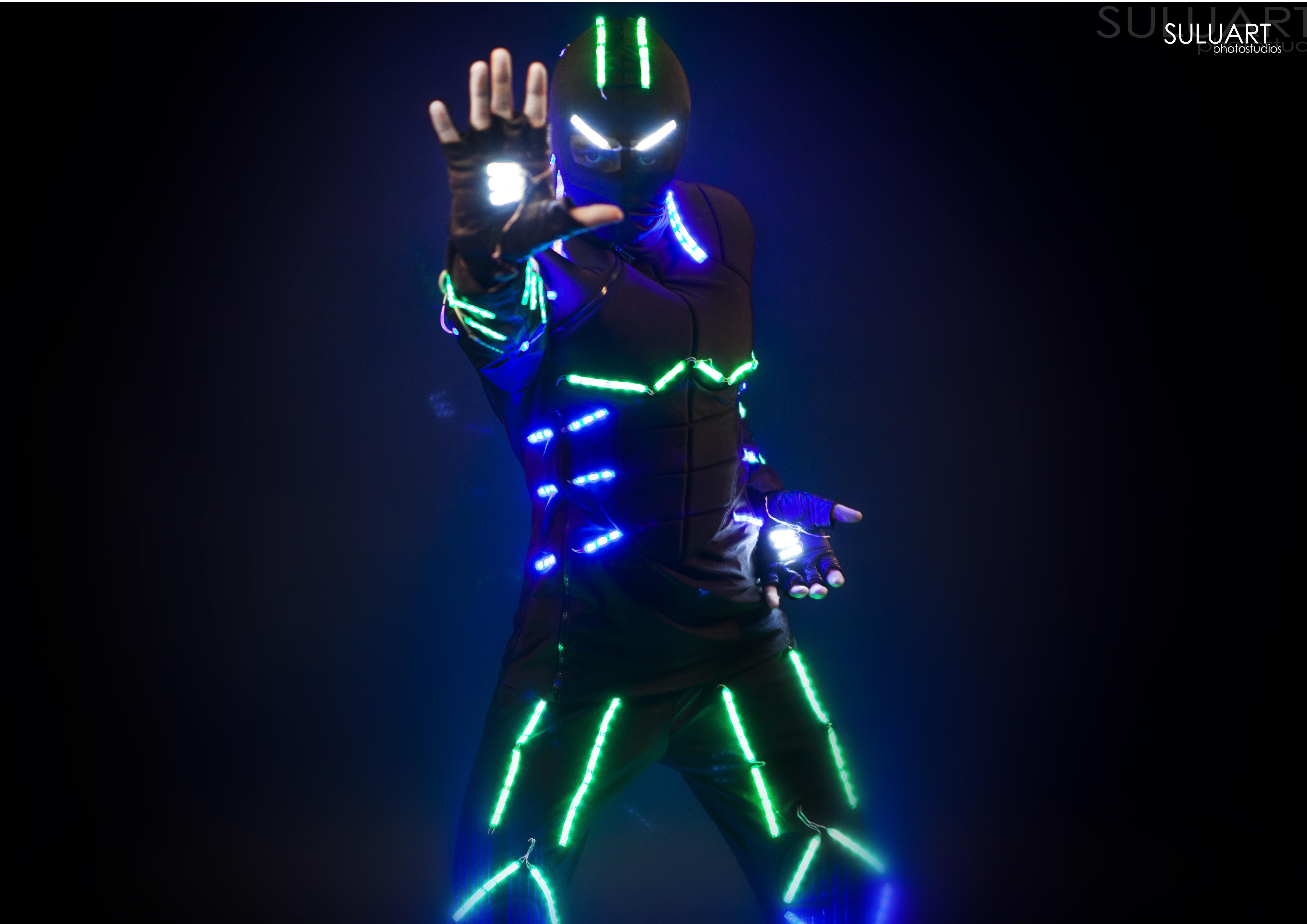 Костюм светящиеся своими руками
