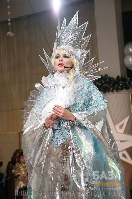 Снежная королева платье своими руками